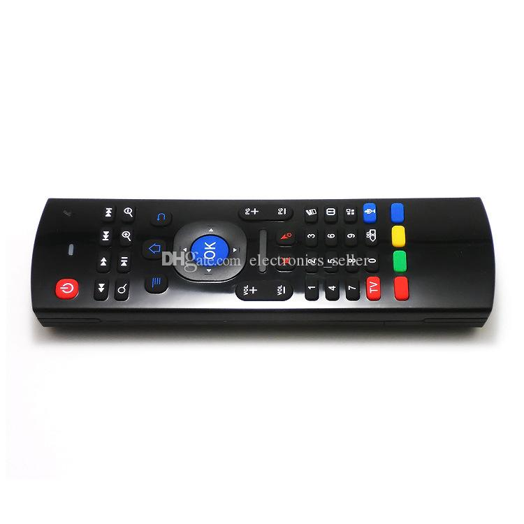 2.4 G беспроводной пульт дистанционного MX3 летать воздуха мышь клавиатура с микрофоном пульт дистанционного управления с голосом Micphone MX3-M для Android TV Box ПК