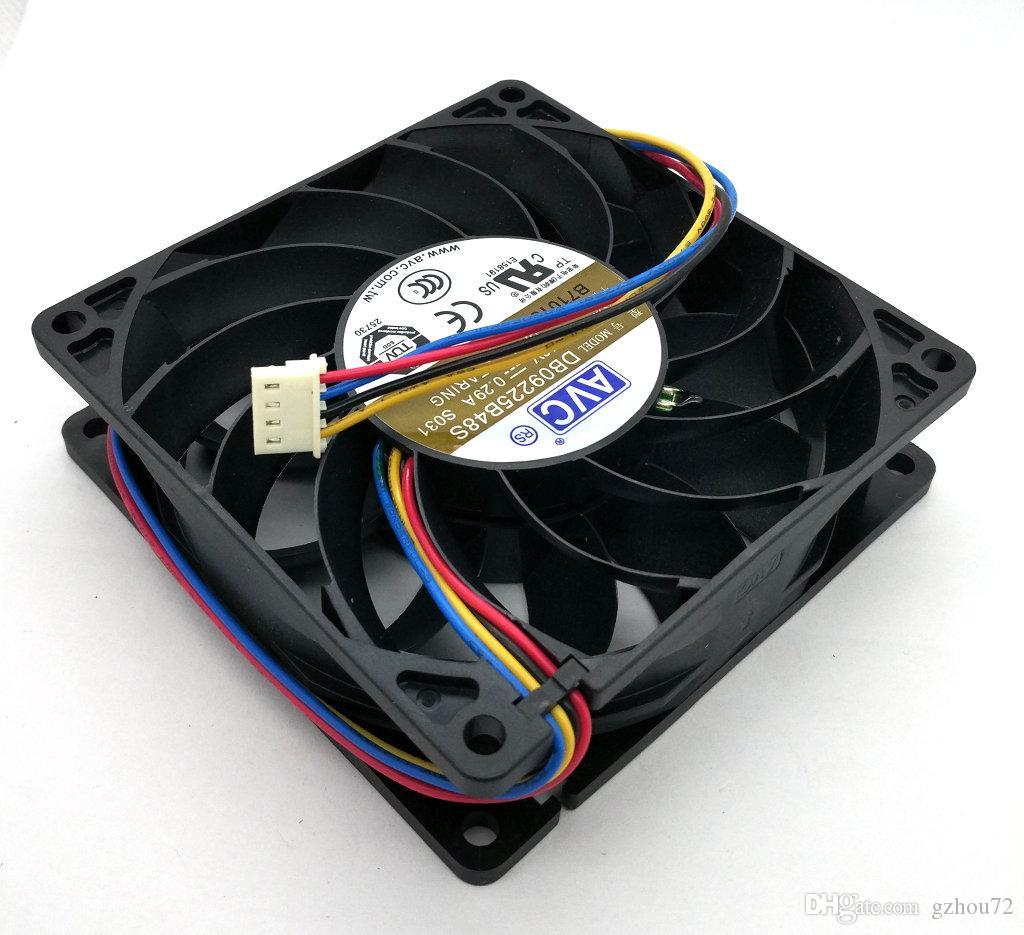 Novo Origianl AVC DB09225B48S DC48V 0.29A Rolamento De Esferas 4 linhas 90 * 90 * 25 MM 9 CM com resistência à Temperatura ventilador de refrigeração