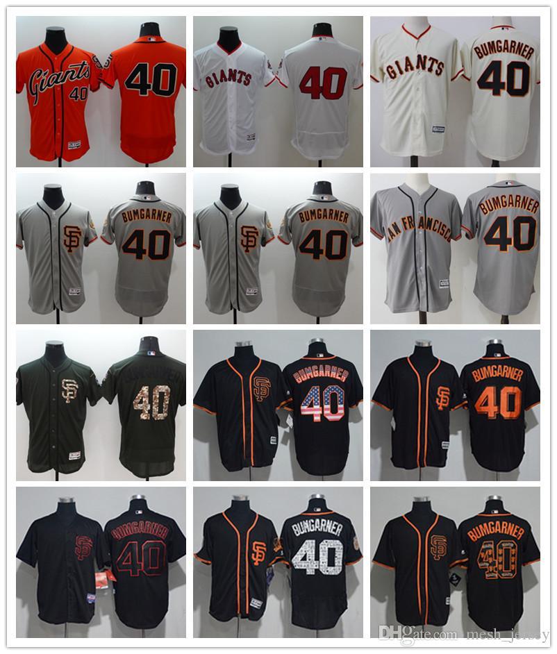 Custom Men Women Youth San Francisco Giants Jersey  40 Madison ... 9772e57fe