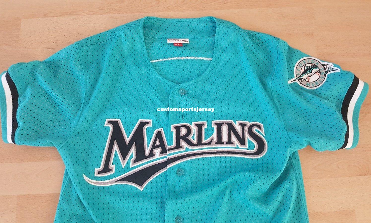 de2130bb ... discount cheap jersey florida marlins baseball stitched customize any  name number men women youth baseball jerseys