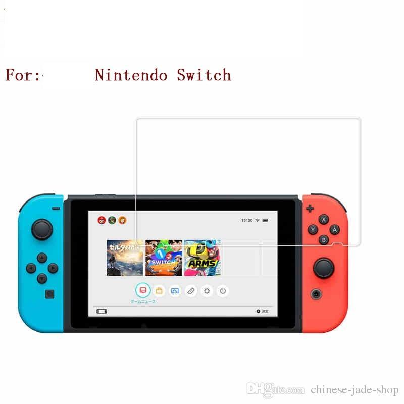 Nintendo 스위치 강화 유리 HD 방지 스크래치 화면 보호기 /