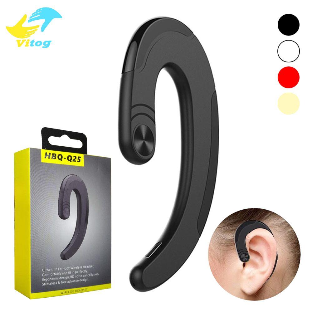 576bfb2c460 Original HBQ Q25 Cordless Wireless Bluetooth Headphones Earphones  Waterproof Bluetooth Earbuds Sports Headset Bone Conduction Earphone Earbuds  For Cell ...