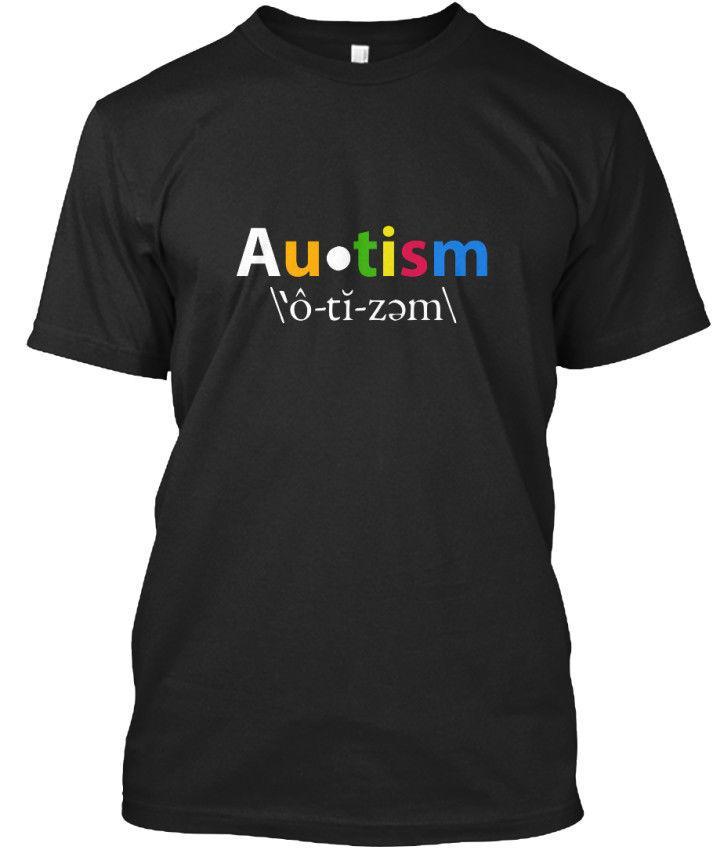 2d3b94be6 Custom Made Autism Awareness Standard Unisex T Shirt Humor T Shirts Funky T  Shirt From Australiae, $11.01| DHgate.Com