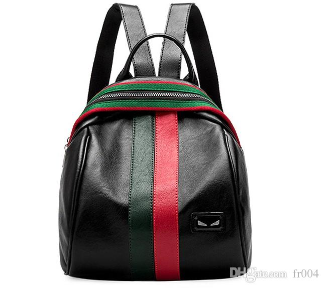 9465b3c906 Top Quality Fashion Backpack Men Women Leather Bags New Famous Back Packs Bag  Embroidered Backpacks Ladies Bags Online with  40.0 Piece on Fr004 s Store  ...