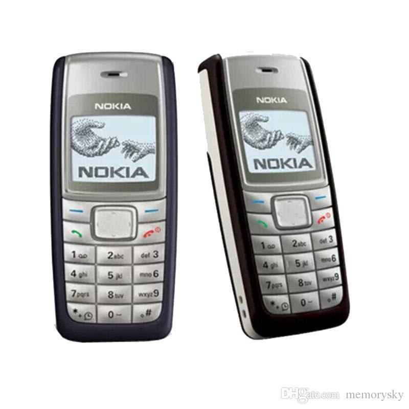 Original Refurbished Nokia 1112 Cheap Unlocked Phone Universal GSM Multi Language Cellphone English Russian Arabic Keyboard Wholesale