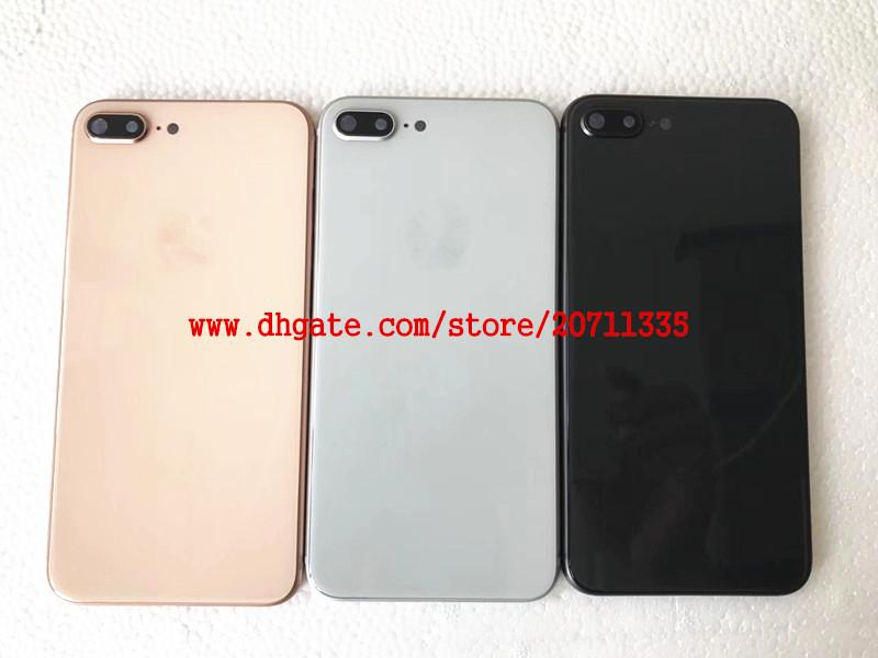 A quality Back Cover Housing For iPhone 8 8g 8 plus X Back Battery Door Cover Replacement