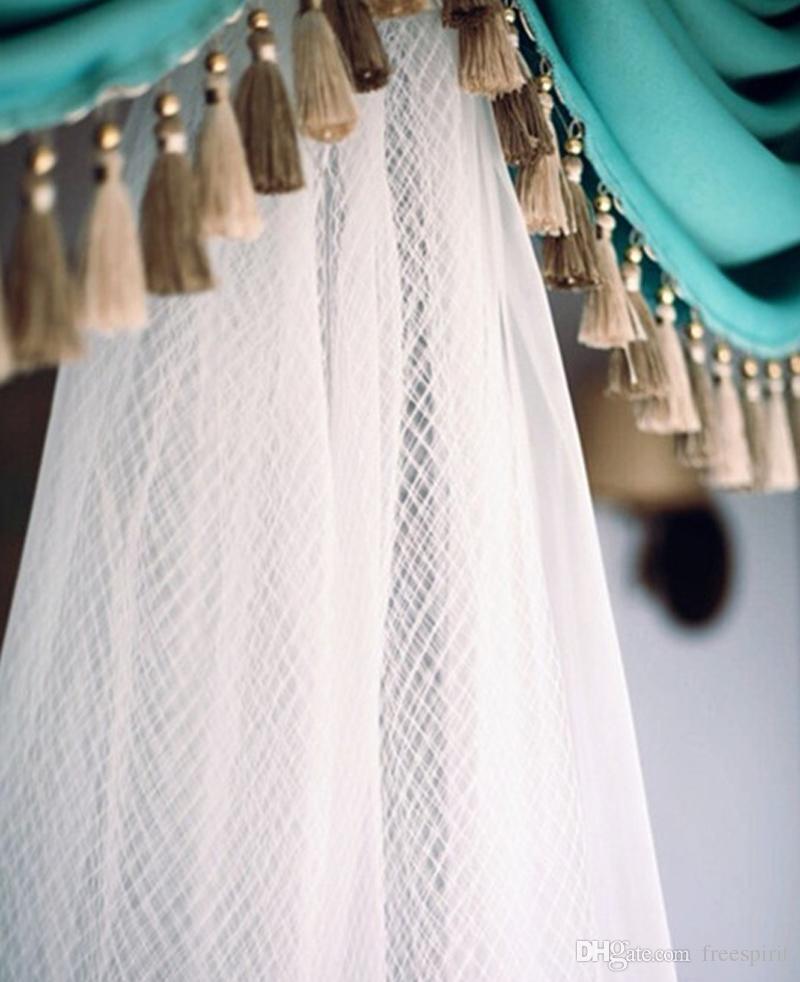 Three Tier Wedding Veil Long Two-layer Soft Tulle One Tier Mesh Tulle Vintage Church Elegant Bridal Veils