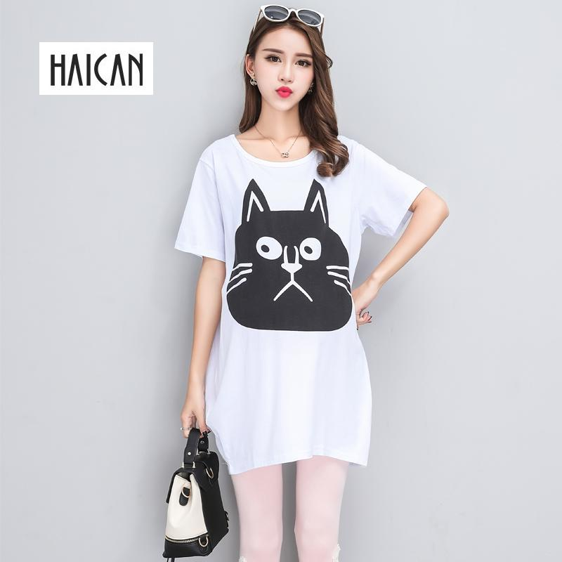 e3344cb18 2019 Maternity T Shirts For Pregnant HAICAN 2018 Summer New Cotton Casual  For Pregnant Funny T Shirt Plus Size Women Tops From Askkit, $28.55 |  DHgate.Com