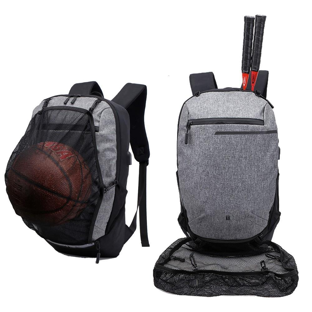baf86c289ad8 2019 Outdoor Man Woman Sports Basketball Backpack Football Gym Fitness  Teenager Bag Squash Tennis Badminton Backpack Soccer Ball Pack From  Ekuanfeng