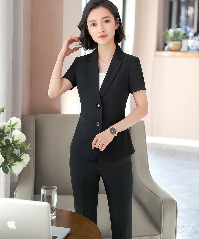 2018 Sommer weibliche Kurzarm Blazer kurze Jacke Büro Frau Blazer koreanische Damen dünne dünne beiläufige Klagejacke Blazer S-3XL