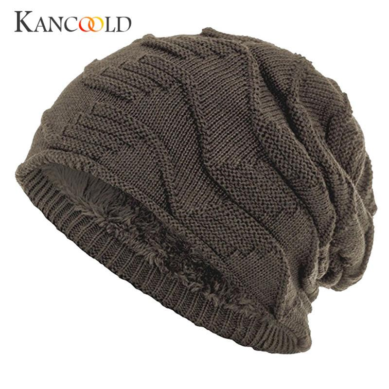 a5e24086503 2019 Caps Cap Men Women Beanie Black Caps Bonnet Skullies And Beanies For  Male Warmer Knit Hats Winter Unisex Solid Headgear Dc26B From Godefery