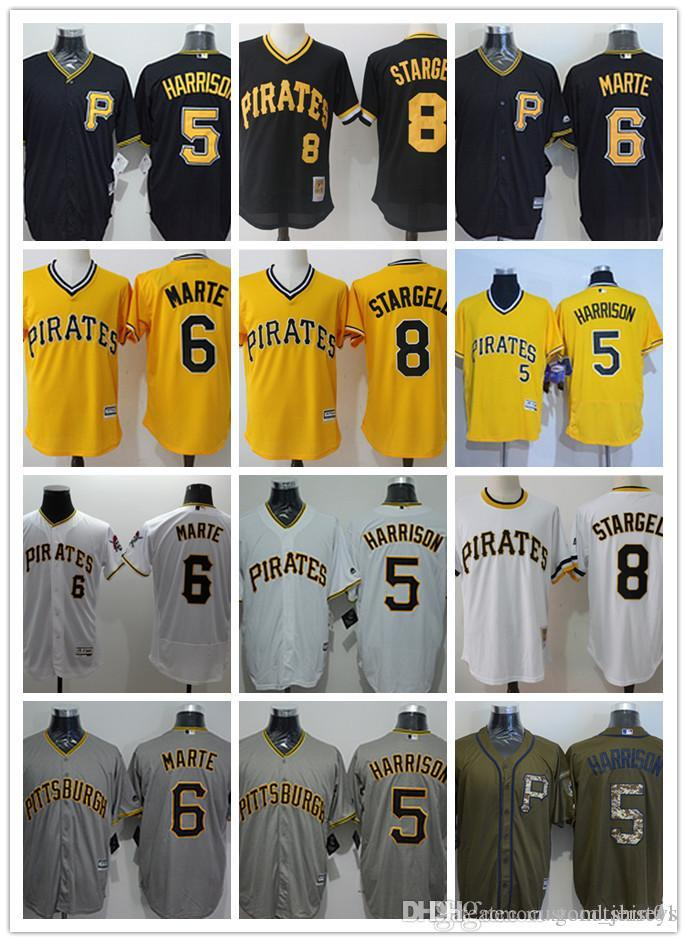 Custom Men Women Youth Pirates Jersey  8 Willie Stargell 6 Starling ... 10305d5b6
