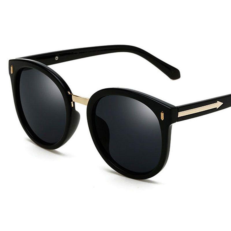 bee81ce3fe 2018 Fashion Round Sun Glasses Women Brands Designer Oversized Metal Arrows  Sunglass UV400 Women Fashion Polarized Sunglasses Wholesale Sunglasses For  Men ...