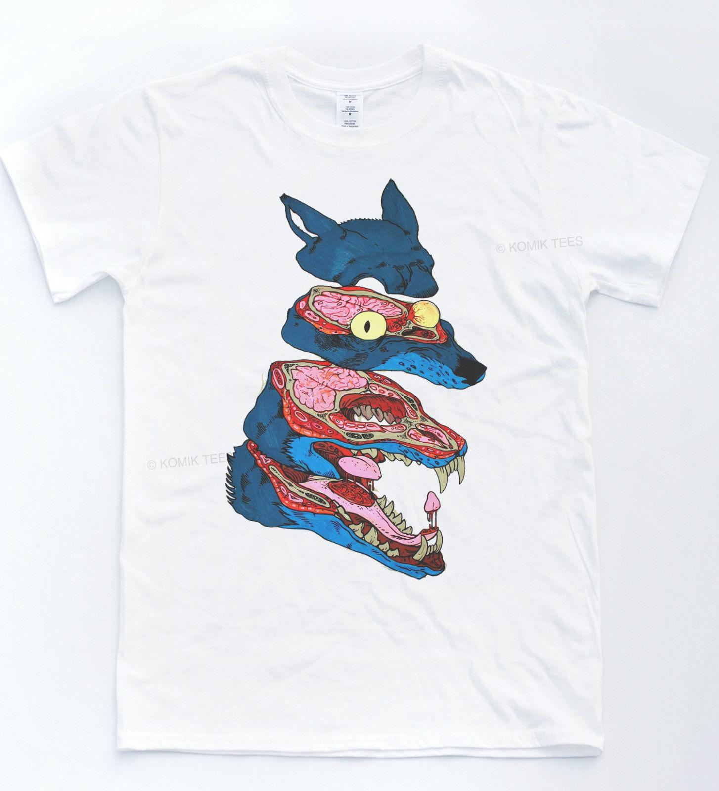 d0812f3c25d Wolf Anatomy T Shirt Illustration Cartoon Comic Tee Hipster Drawing Animal  Top Fan Pants T Shirt Purchase T Shirt Crazy Tee Shirts Online From  Qz614445917