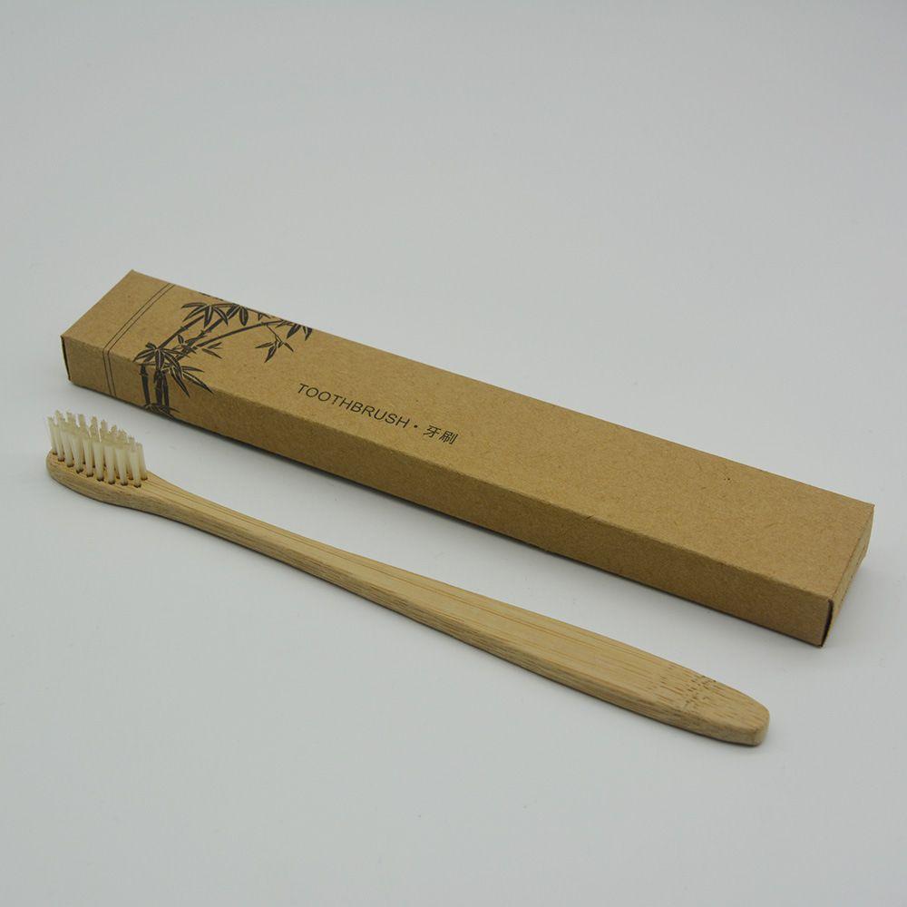 2018 Горячая бамбуковая зубная щетка Корона Экологически чистая зубная щетка Бамбуковая зубная щетка Мягкий нейлон Capitellum Бамбуковые зубные щетки DHL Free Ship