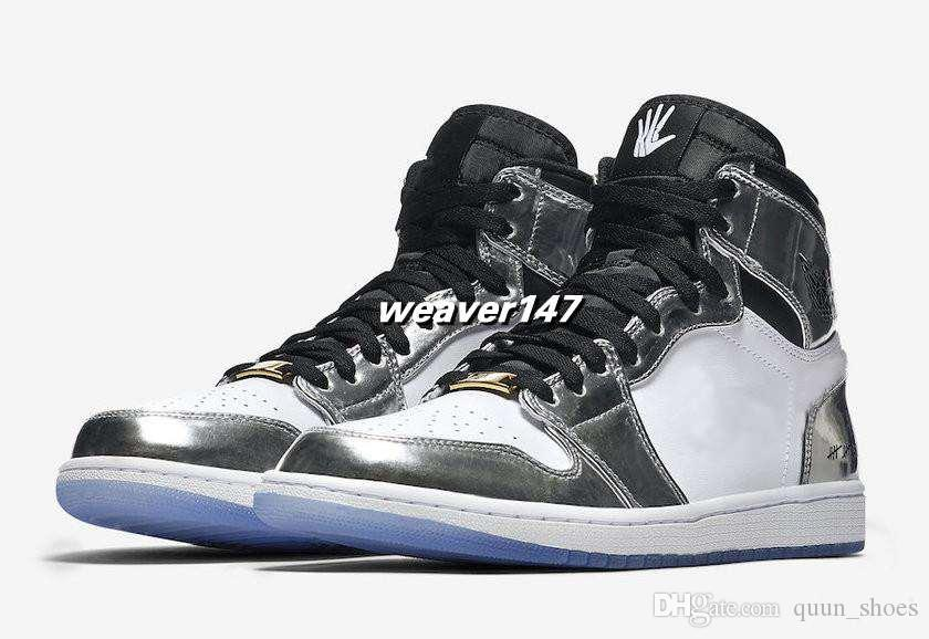 2018 New Kawhi Leonard 1 High Pass The Torch Think 16 2014 Champion Mens Basketball Shoes AAA quality Silver Trainers Sports