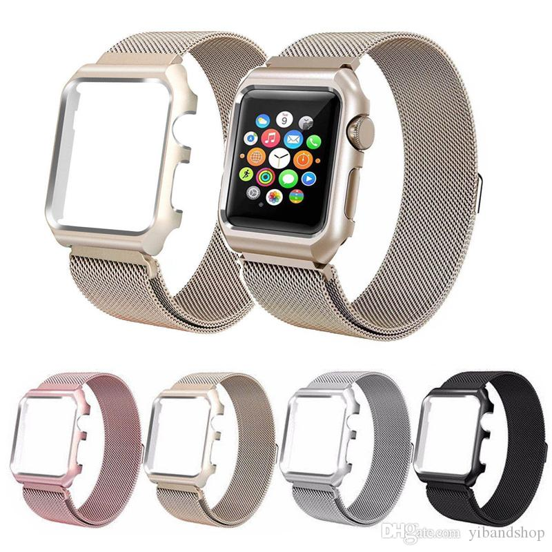 55e31d18235854 Milanese Loop Magnetic Stainless Steel Strap Wrist Watch Band with ...