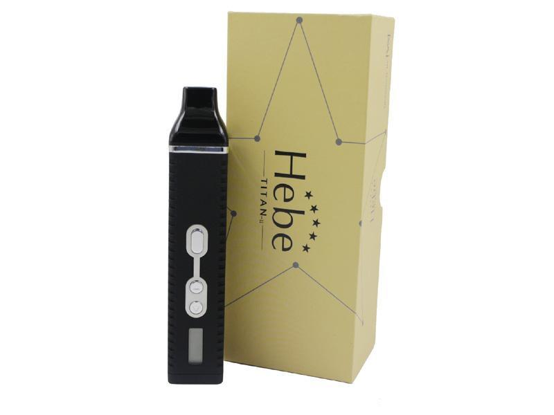 Nouveau Titan 2 II Vaporisateurs Secs Vaporisateurs Hebe Kit Vapor Mod Avec Affichage LCD De Tempreture 2200mah Vaporisateur Stylos Haute Qualité DHL