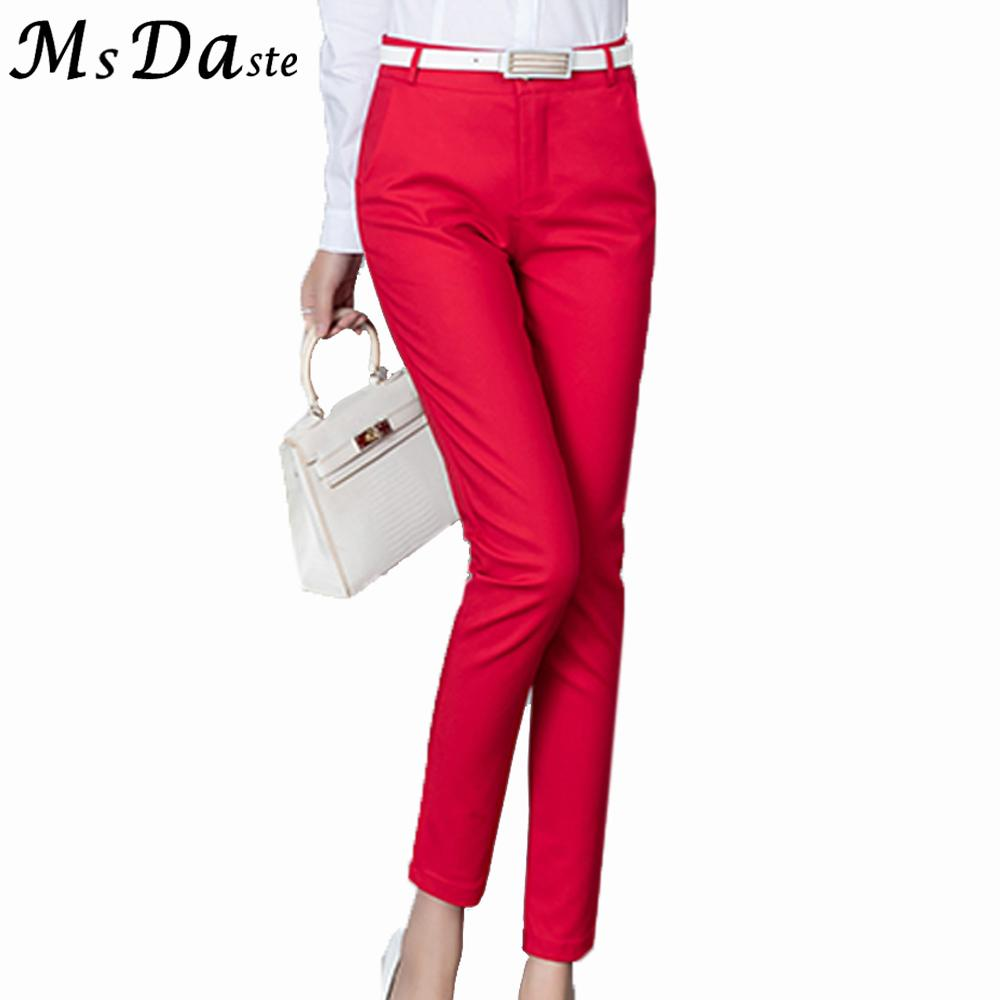 How to capri red wear pants