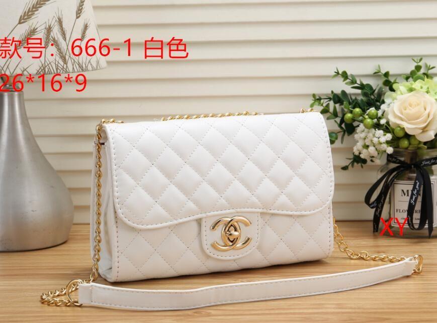 2018 New Style Designer Women Handbags Solid Plain Diamond Lattice Shoulder  Bags Flap Chains Fashion Messenger Bags Luxury Purse Online with   35.79 Piece on ... 61b8bc01c84e4