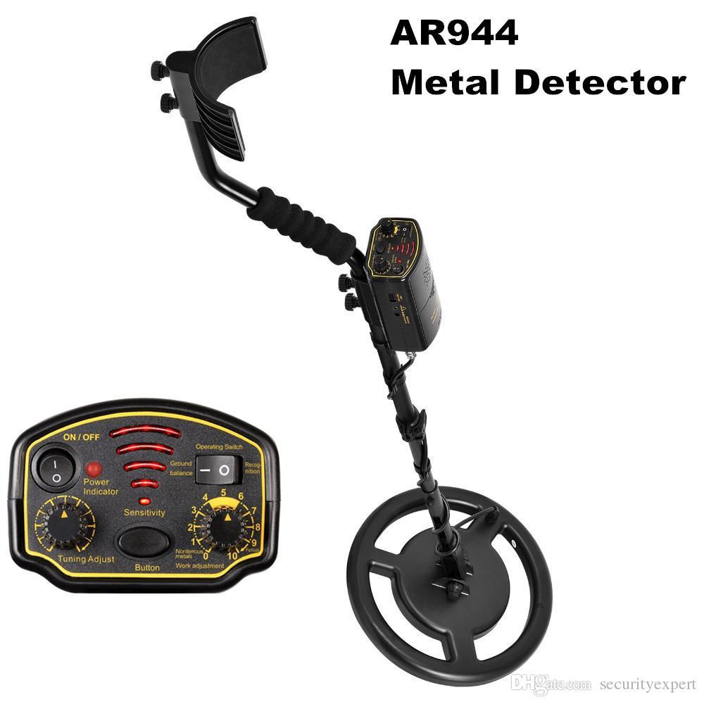 Underground Metal Detector Waterproof Depth1 5m/2 5m AR944M Scanner Finder  Gold Digger Treasure Hunter 1200mA li-Battery Search