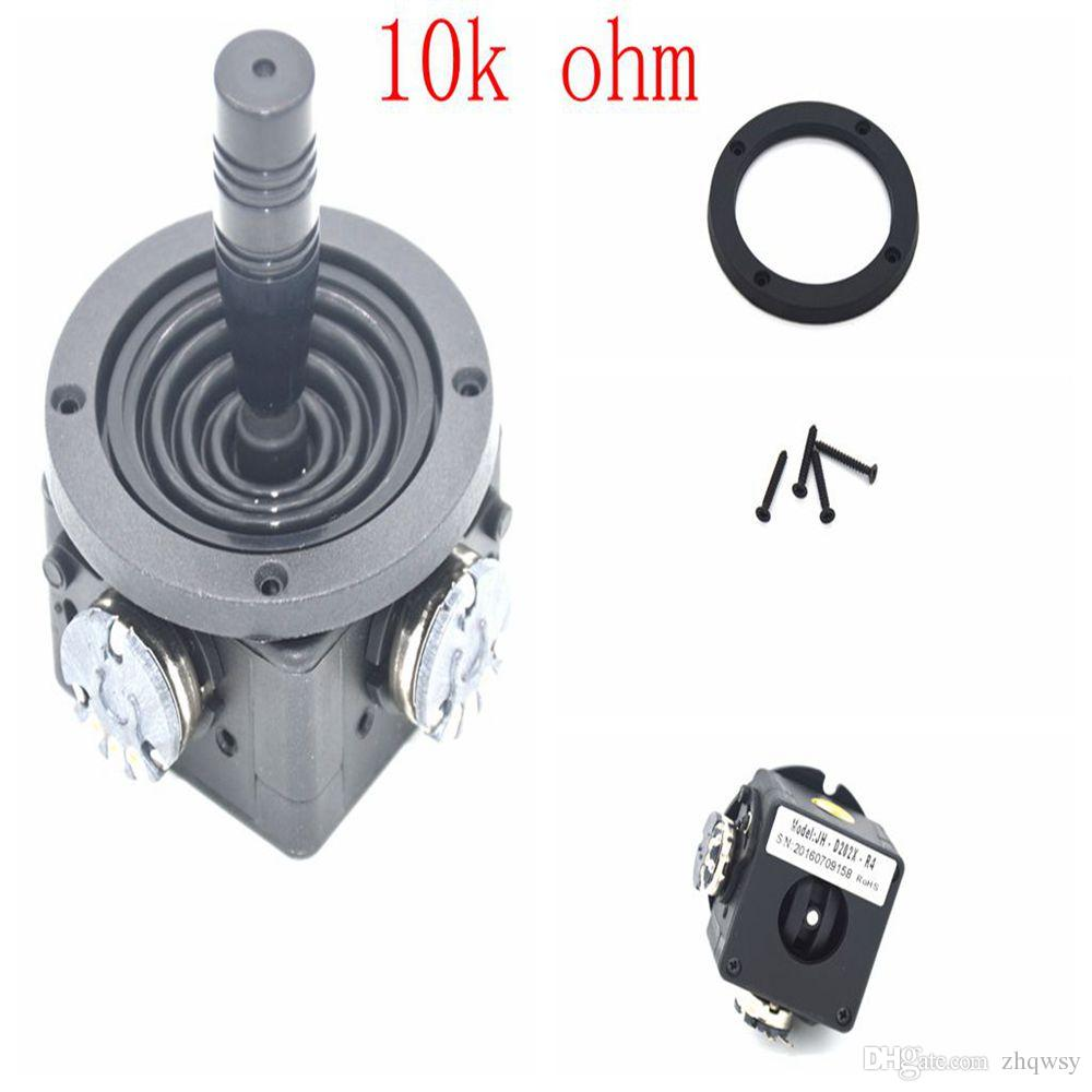 Joystick Potentiometer 10K ohm switch rotation 2-way direction JH-D202X-R4 joystick joystick potentiometer, black