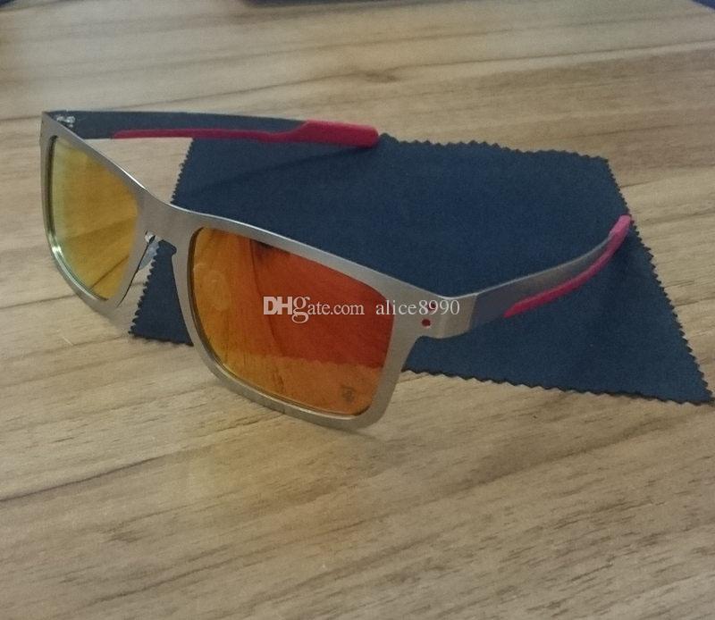 75a96d3fdf Compre 2018 Nueva Versión Superior Gafas De Sol Marco De Metal Lente  Polarizada UV400 Deportes Gafas De Sol Tendencia De La Moda Anteojos  Eyewear A $23.22 ...