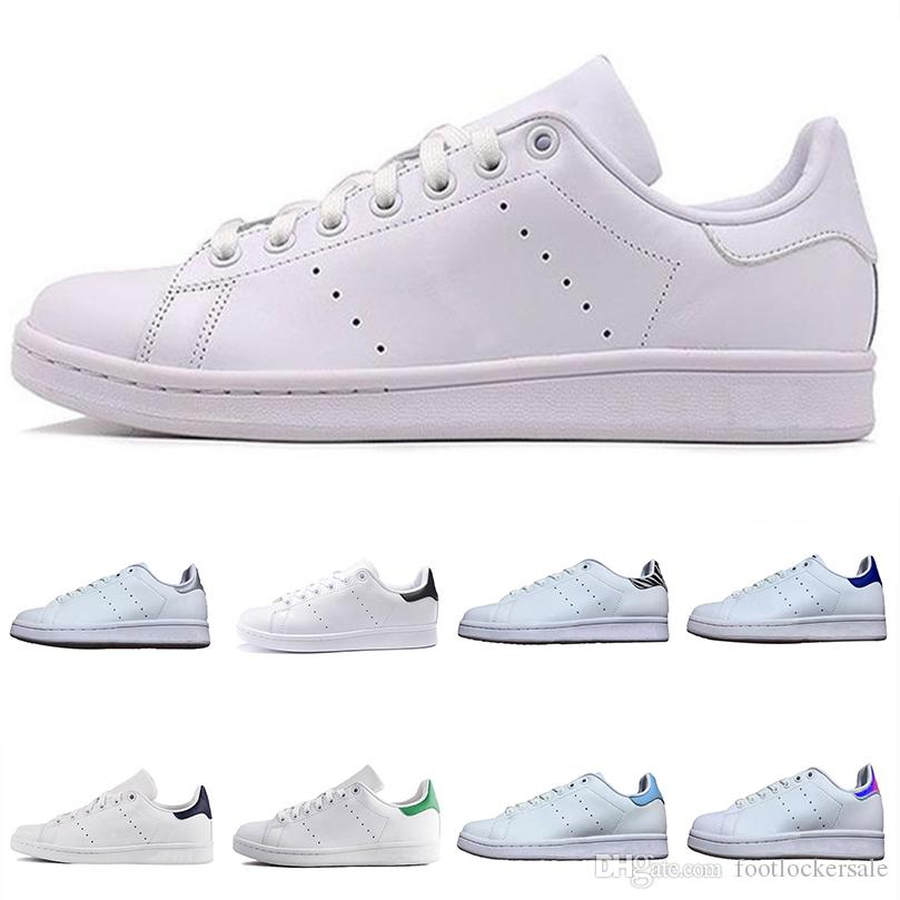 hot sales a59e2 80714 Stan Smith Original Flat Running Shoes BE TURE Mens Womens Triple White  Black Designer Fashion Sneakers Casual Skateboar Trainer Chaussures