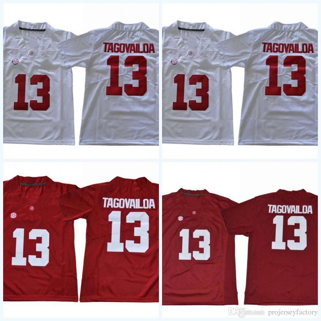 1309f6050 Youth 13 Tua Tagovailoa Alabama Crimson Tide NCAA College Football Jersey  White Red S-XXXL High Quailty Fast Shipping Tua Tagovailoa Jersey Alabama  Crimson ...