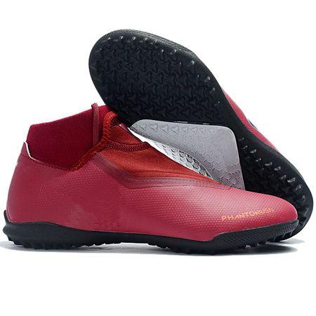322d67c4a 2018 Soccer Cleats Phantom Vision Elite DF Soccer Shoes Indoor Academy MG  TF Mens Football Boots Scarpe Calcio High Quality Original Kids Rain Boot  Boots ...