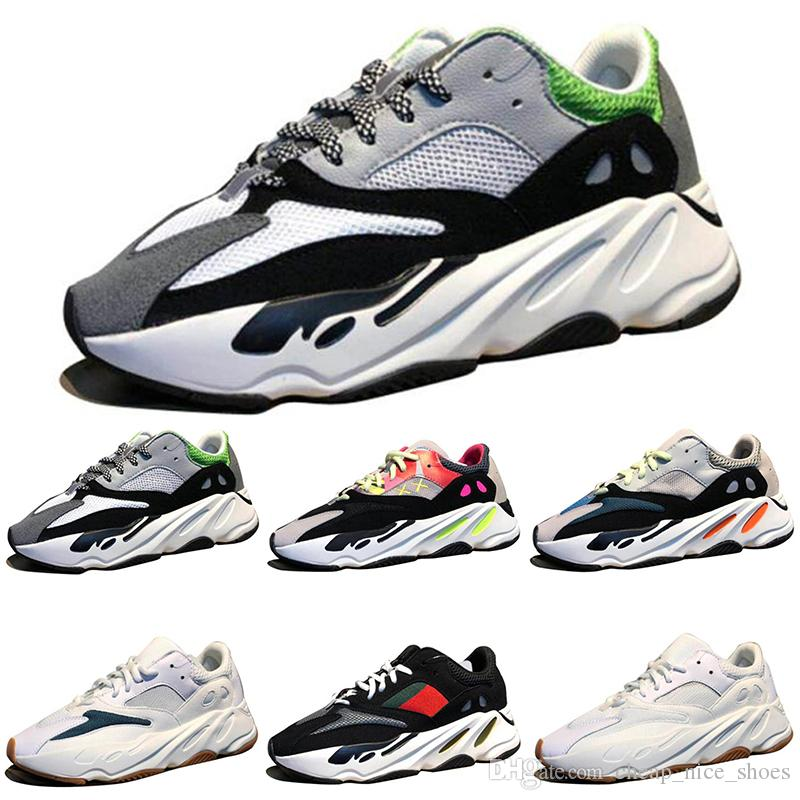 633721ada7a71 2018 New Kanye West Wave Runner 700 Boots Grey Running Shoes For Men 700s Womens  Mens Sports Sneakers Trainers Outdoor Designer Causal Shoes Ladies Running  ...