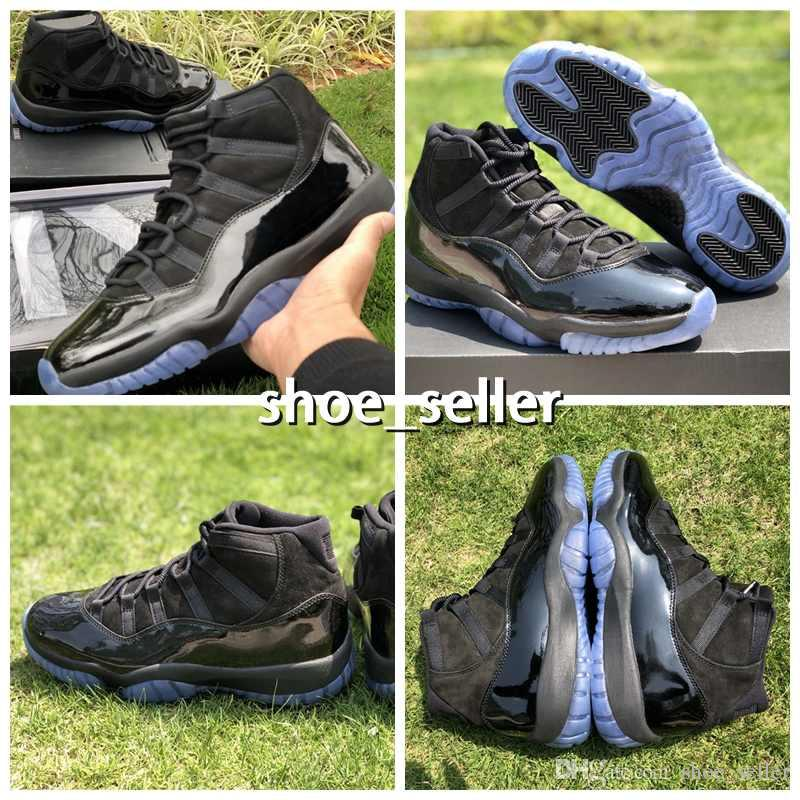2018 Release 11 Cap And Gown 11s Basketball Shoes Sneakers For Men