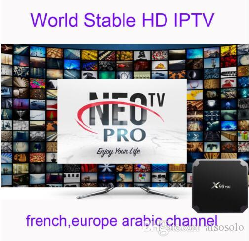 Android APK NEOTV QHDTV VOD European Arabic Franch IPTV Account 1 Year M3U Enigma2 Smart TV MAG without tv box