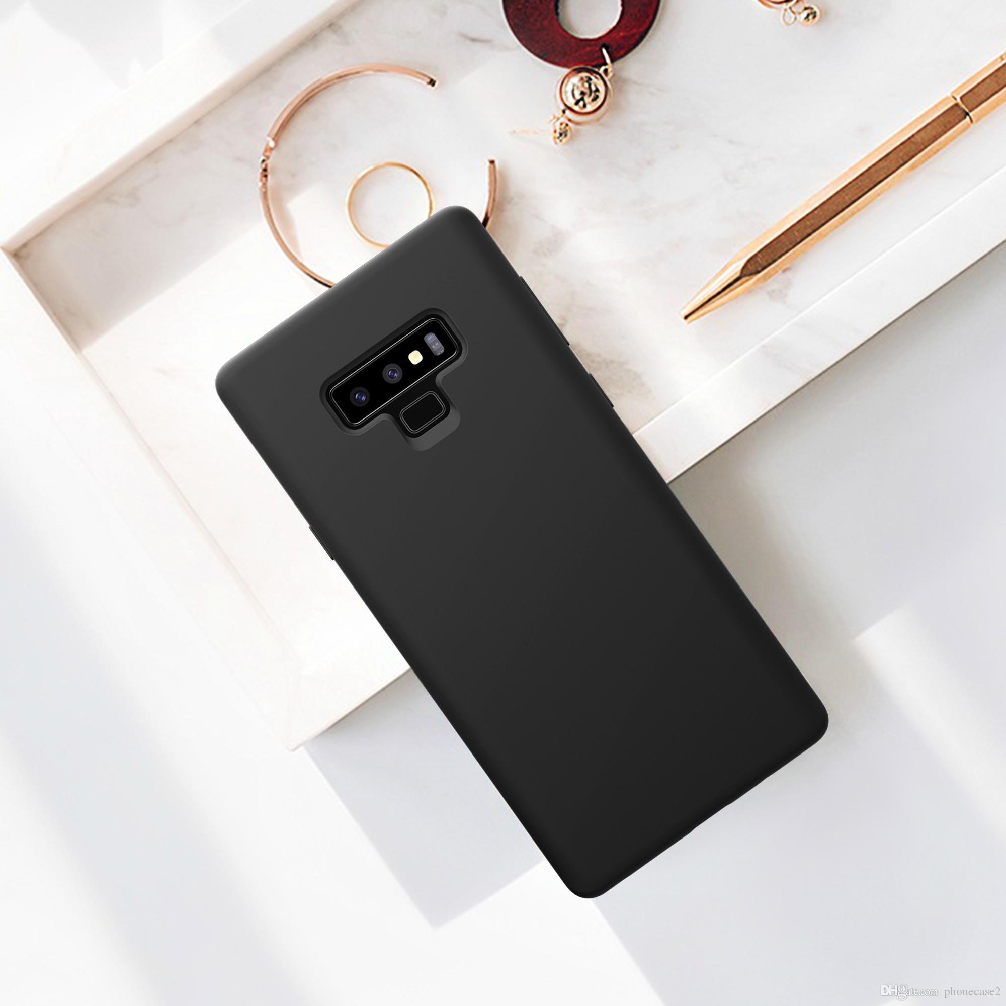 057220c0015 Accesorios De Celular NILLKIN Funda De Silicona Líquida Para Samsung Galaxy  Note 9 Anti Huella Digital Funda De Carcasa Trasera Suave Para Samsung  Galaxy ...