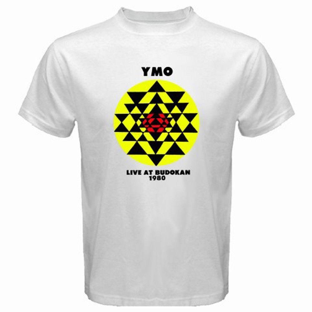 ec046a0629 Compre Yellow Magic Orchestra Band Live At Budokan Camiseta Blanca Para  Hombre