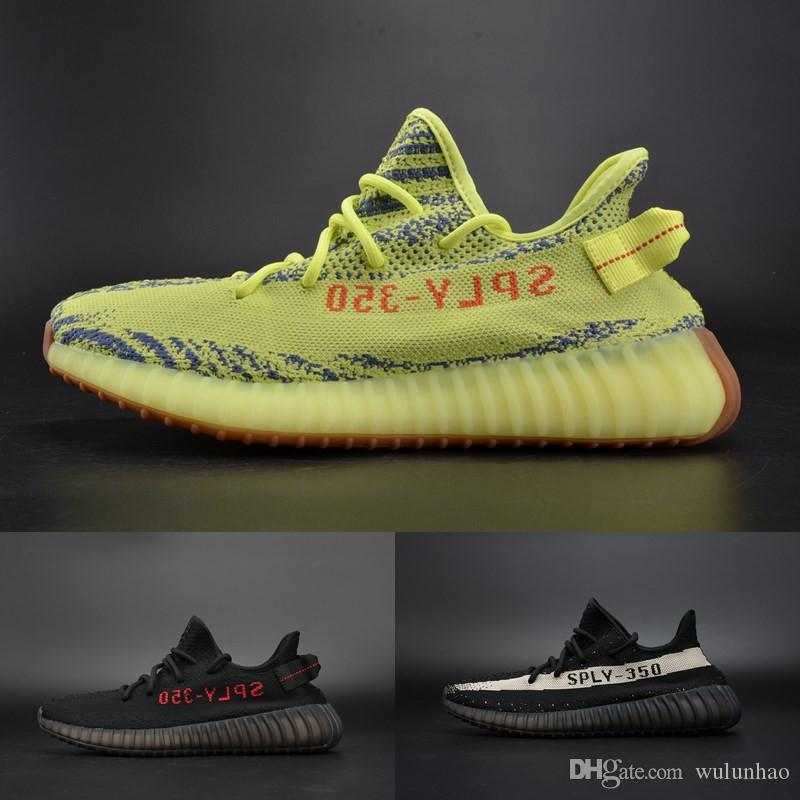 Boost 350 v2 Beluga 2.0 2018 New Grey Bold Orange Ah2203 Yellow Semi Frozen Blue Tint Red night Men Women Running Shoes
