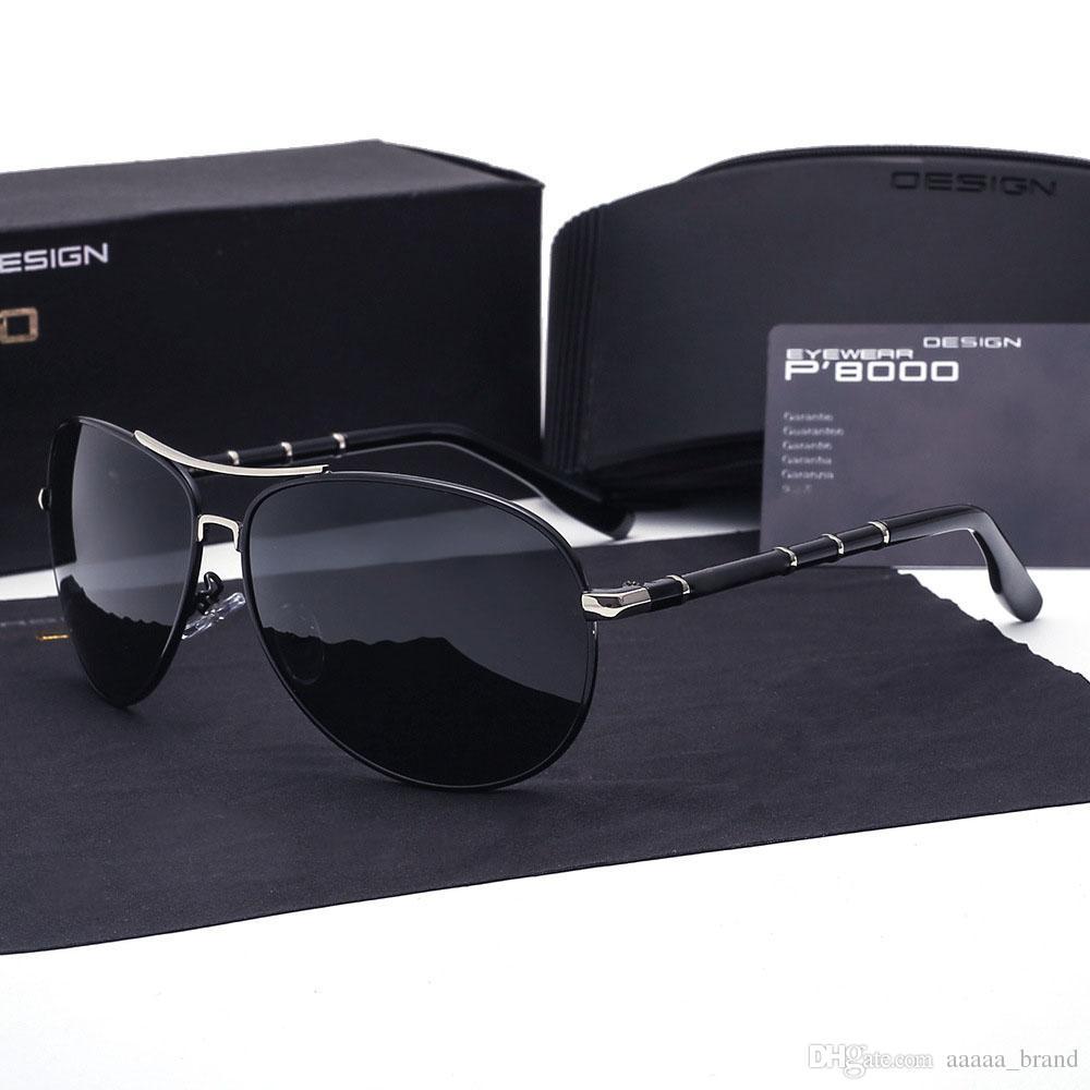 16da0cbfeb Brand Sunglasses Men Polarized Uv400 High Quality Coating Mirror Sun Glasses  For Vintage Driving Shades Oculos Masculino Male And Retail Box Glasses  Online ...