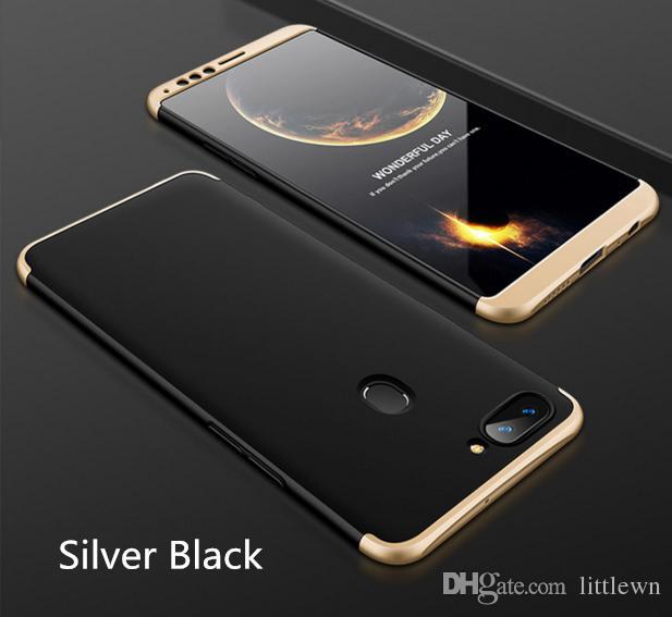 For OPPO R11S Cell Phone Case 3-In-1 360 Degree Full Shockproof Armor Hard Back Cover Smart For OPPO R11S