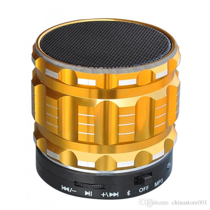 S28 Mini Bluetooth Speakers Cheap High Quality Metal Wireless Speaker Support TF Card Answer Call Car MP3 Player Update A9