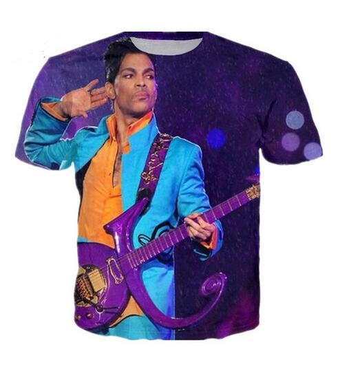 034dce7a7159 New Fashion Mens/Womans Prince Purple Rain T Shirt Summer Style Funny  Unisex 3D Print Casual T Shirt Tops Plus Size RTB024 Cheap T Shirt Design  Your T Shirt ...