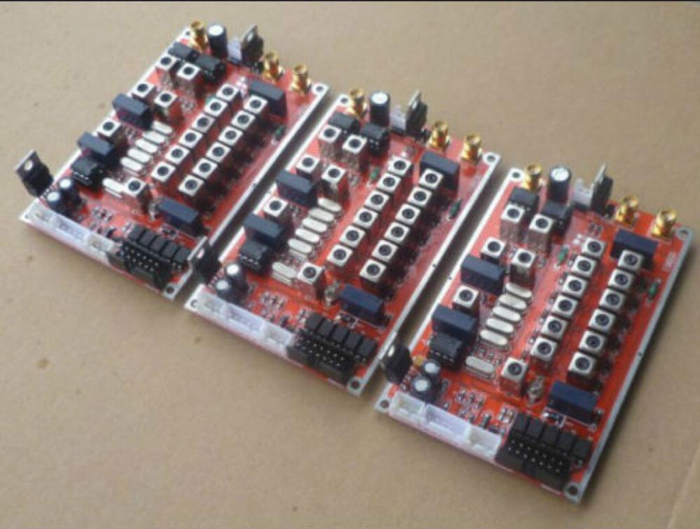 6 band HF SSB CW LSB shortwave radio transceiver board DIY Kits free  shipping