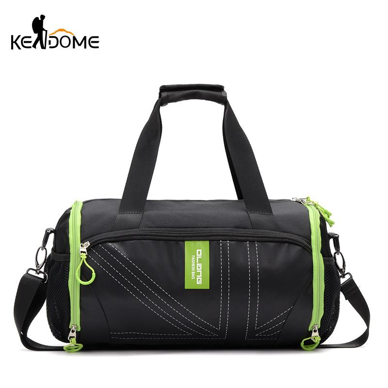 2019 Travel Sports Outdoor Male Gym Fitness Training Badminton Yoga Mat Bag  Independent Shoes Storage Shoulder Bag Black XA826WD From Raisins a5c98822fd070