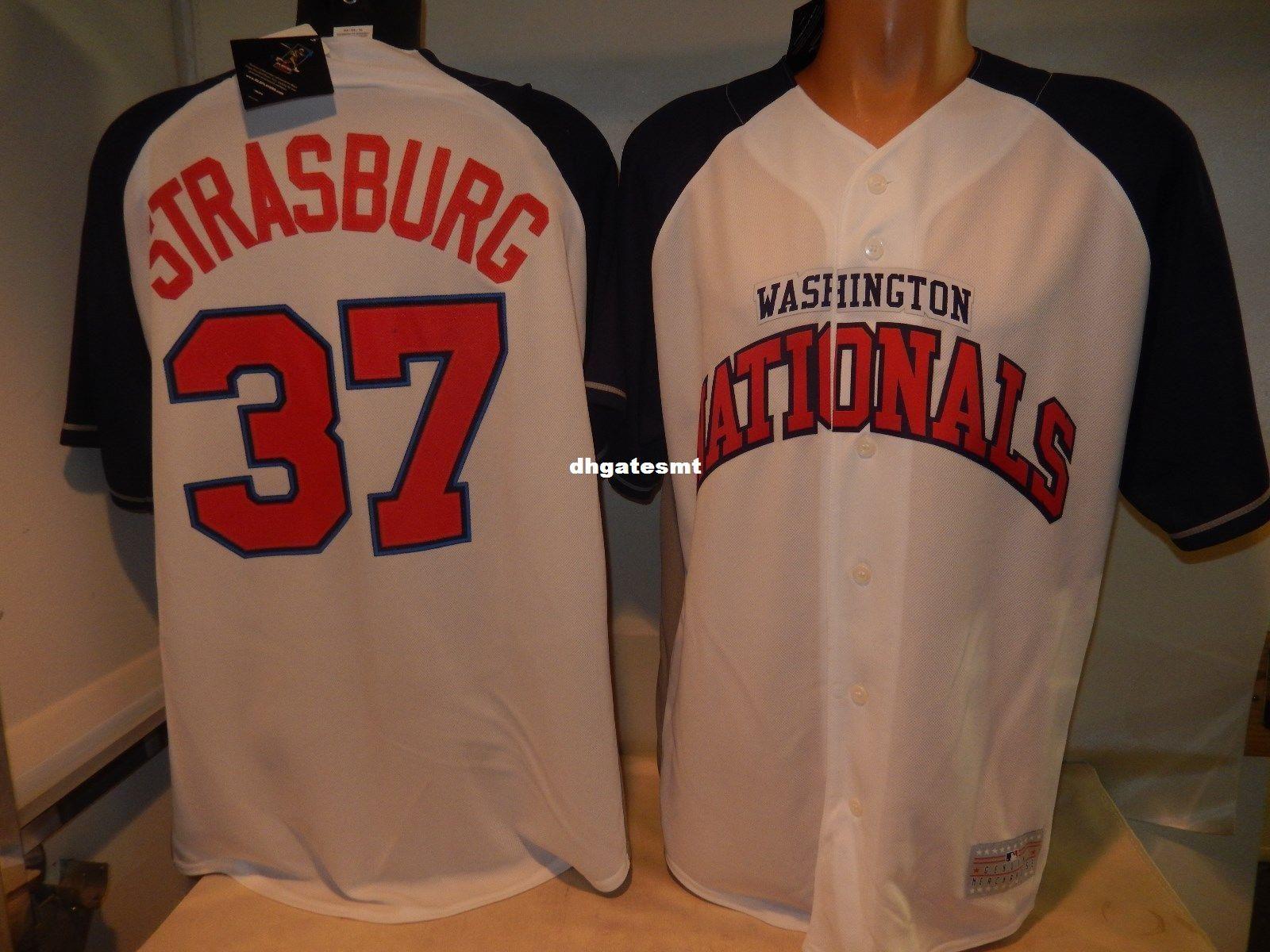 d35d2063aa5 Wholesale Cheap MAJESTIC Washington  37 STEPHEN STRASBURG Baseball Jersey  NEW Mens Stitched Jerseys Cheap Jersey Wholesale Jersey Baseball Jersey  Online ...