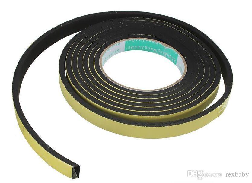 New Sealing Strips 3 Metro Finestra Schiuma Adesivo Paraspifferi Striscia Nastro di Tenuta Nastro Adesivo Striscia di Gomma Striscia spedizione gratuita