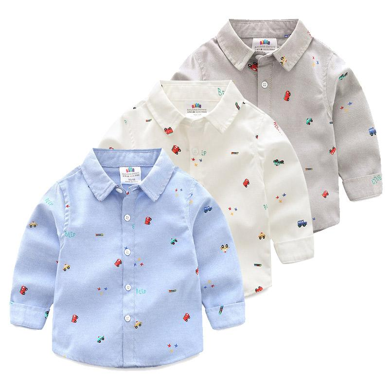 84aef0d30 2019 Kids Boys Polo Shirts New 2018 Spring Children Cotton Shirt Long Sleeve  Boys Clothes Toddler Polo Shirt Dq790 From Sport xgj