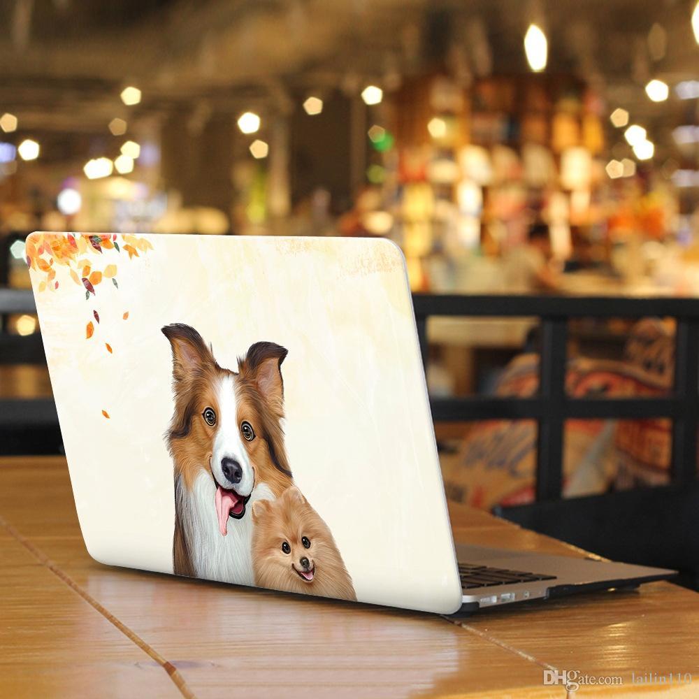 Animal-8 Pintura al óleo Estuche para Apple Macbook Air 11 13 Pro Retina 12 13 15 pulgadas Touch Bar 13 15 Funda para laptop