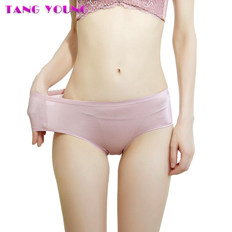 5078aed788ce 2019 Women Sexy Lace Splice Panties Seamless Underwear Nylon Silk Ultra  Thin Briefs Ladies Soft Comfortable Lingerie Knickers HA0291 From  Qutecloth, ...