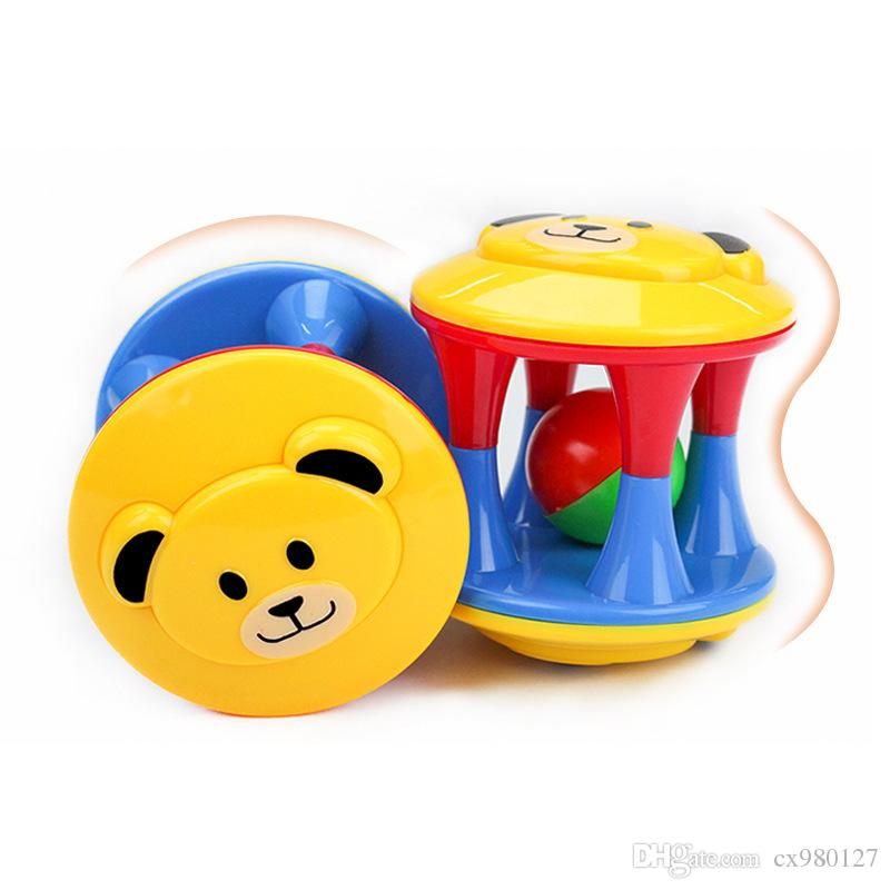 Baby Rattle Baby Safe Plastic Teether Toy 0 3 6 12 Months Boys And
