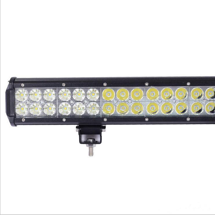 22.5 inch 144W led light bar Truck Cree Led Work light 48x3W off-road lamp Beam 12V/24V 4WD 4x4 Driving light bar