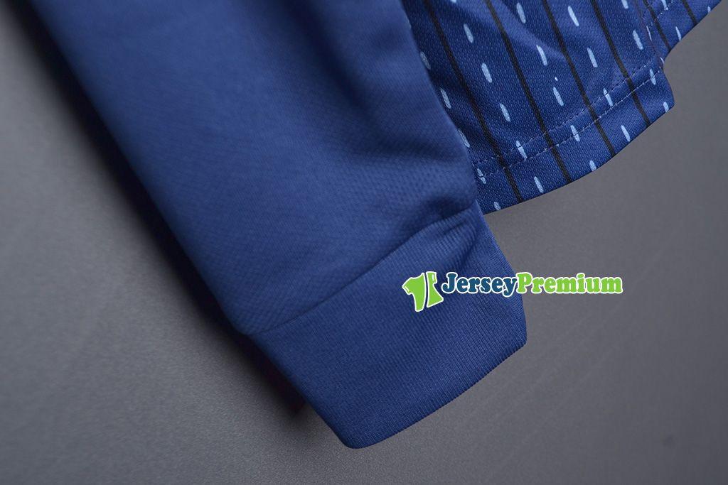 Maglia a maniche lunghe Giappone Home Away Pullover di calcio blu Camicia bianca bianca Okazaki Kagawa Hasebe Nagatomo Haraguchi Kiyotake Honda